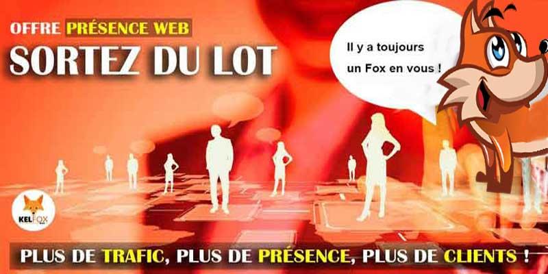Présence Web une nouvelle KelFox